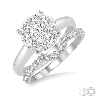 Diamond Lovebright Fitted Matching Band