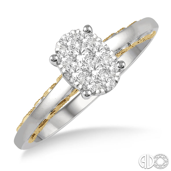 Lovebright Oval Diamond Ring