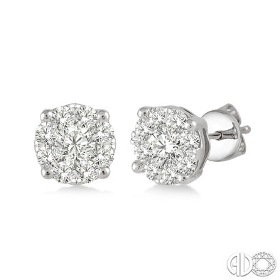Lovebright Round Diamond Studs