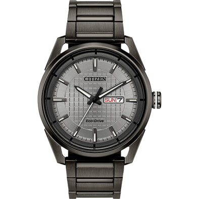 Drive Eco-Drive Gun Metal Grey Watch