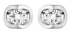Luna Diamond Stud Earrings
