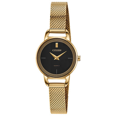 Gold Tone Quartz Watch