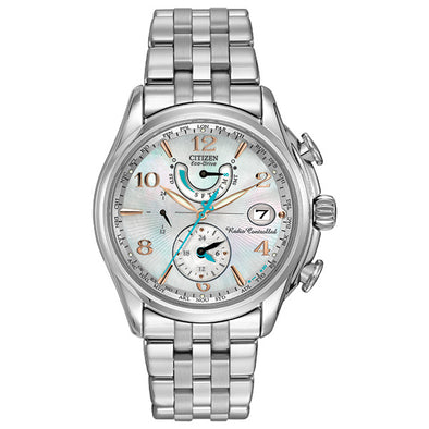 World Time AT Eco-Drive Ladies Watch