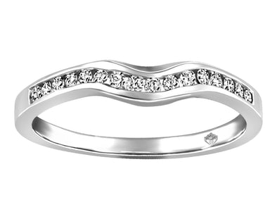 Fitted Diamond Band