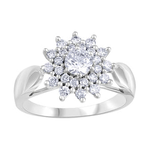 Cluster Canadian Diamond Ring