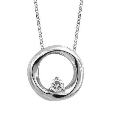 Circle of Love Diamond Pendant