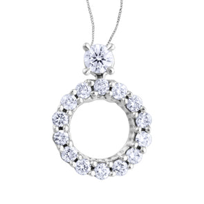 Joruney Circle Canadian Diamond Pendant