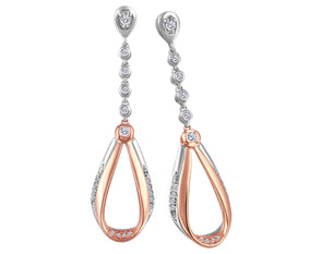 Dangle Teardrop Earrings