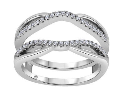 Double Jacket Wedding Ring