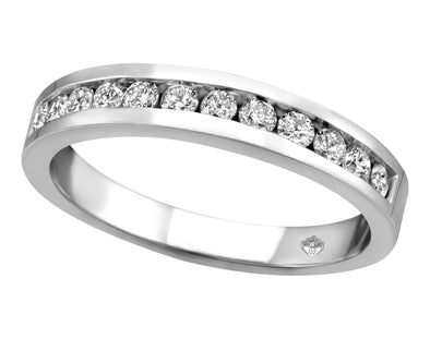 Matching Channel Set Diamond Band