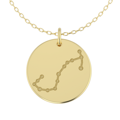 Constellation Disc Pendants