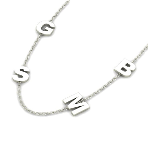 Quad Initial Necklace