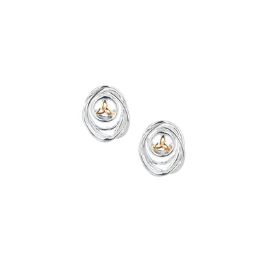 Cradle of Life Stud Earrings