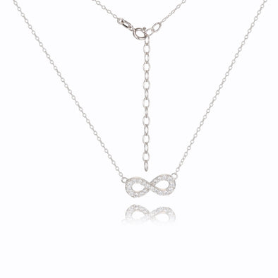Infinite Love Pendant set with CZ