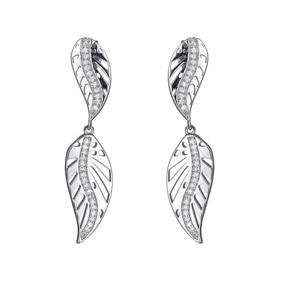 Double Leaf Earring