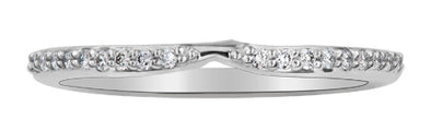 Fitted Matching Diamond Band
