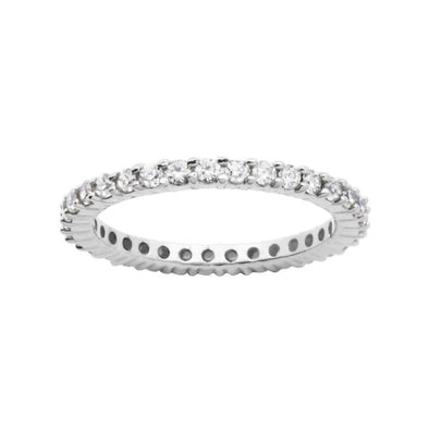 Stackable CZ Eternity Band