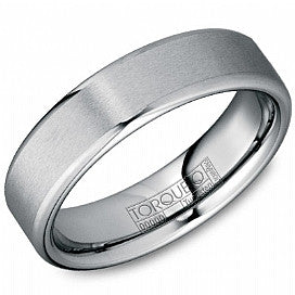 Torque Tungsten Wedding Band