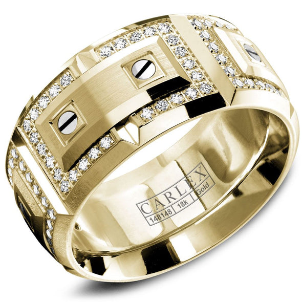 Diamond 18kt Gold Wedding Band