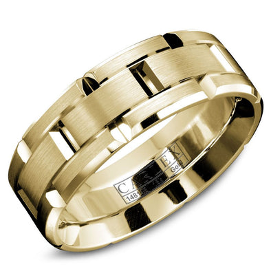 Luxury Men's Gold Band