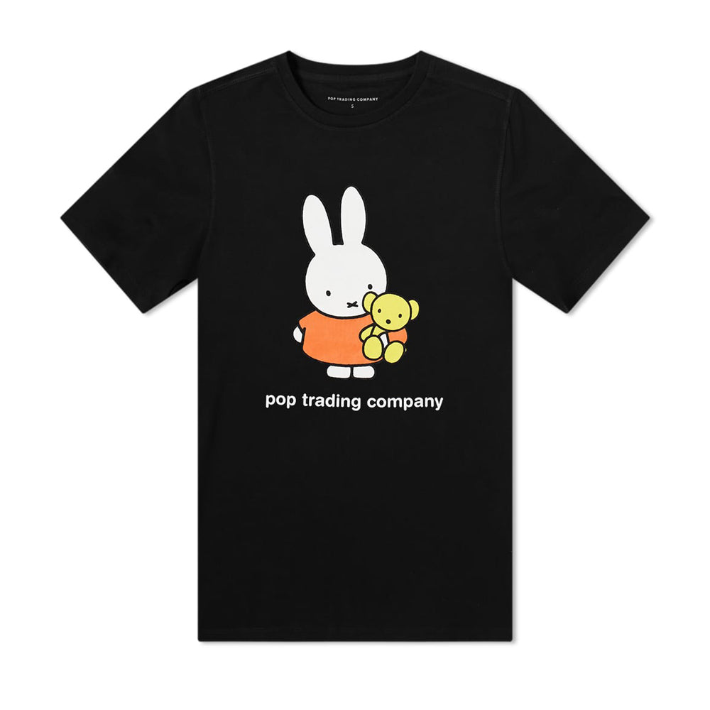 Miffy Bear Tee, Black