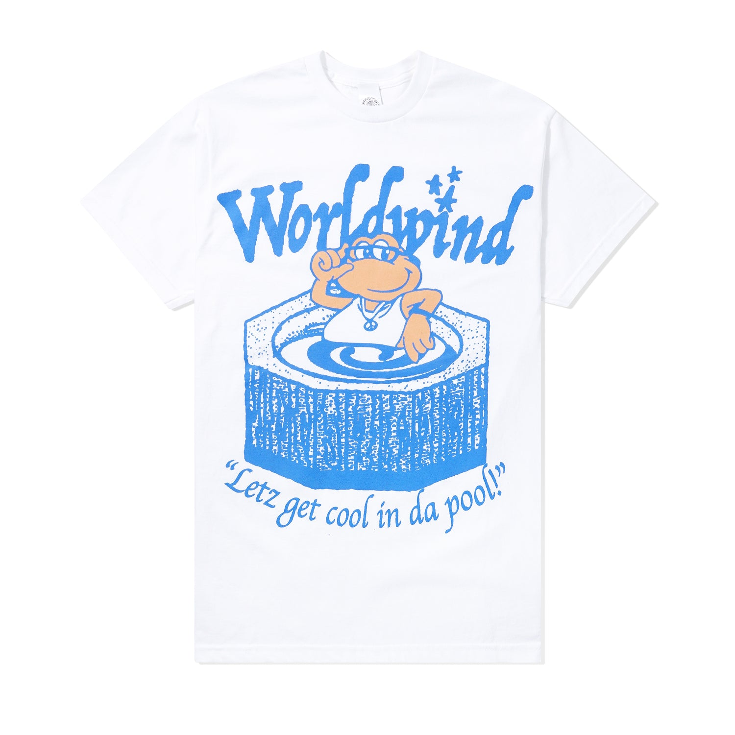 Frog In A Pond Tee, White