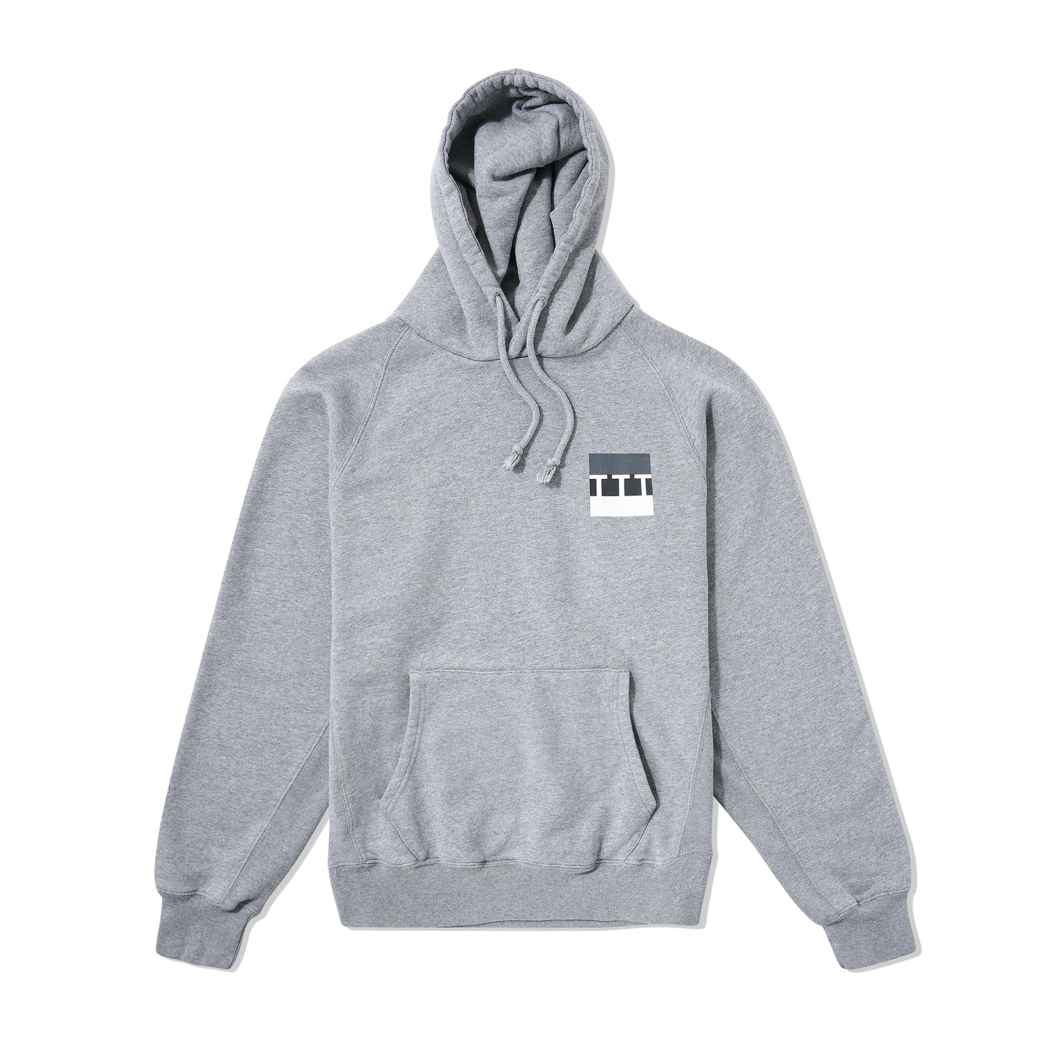 Block Pullover, Grey Marl