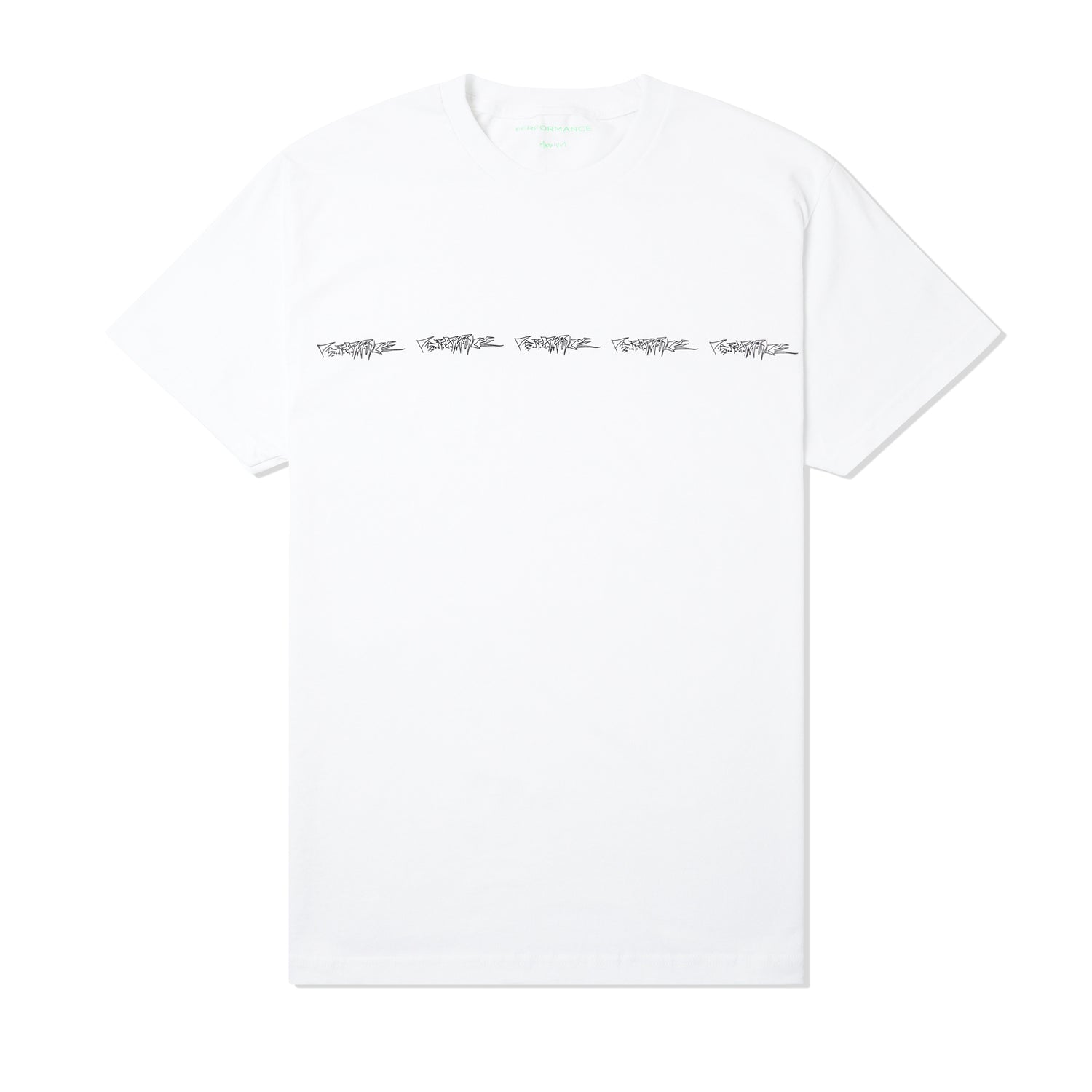 Logo Repeat Tee, White
