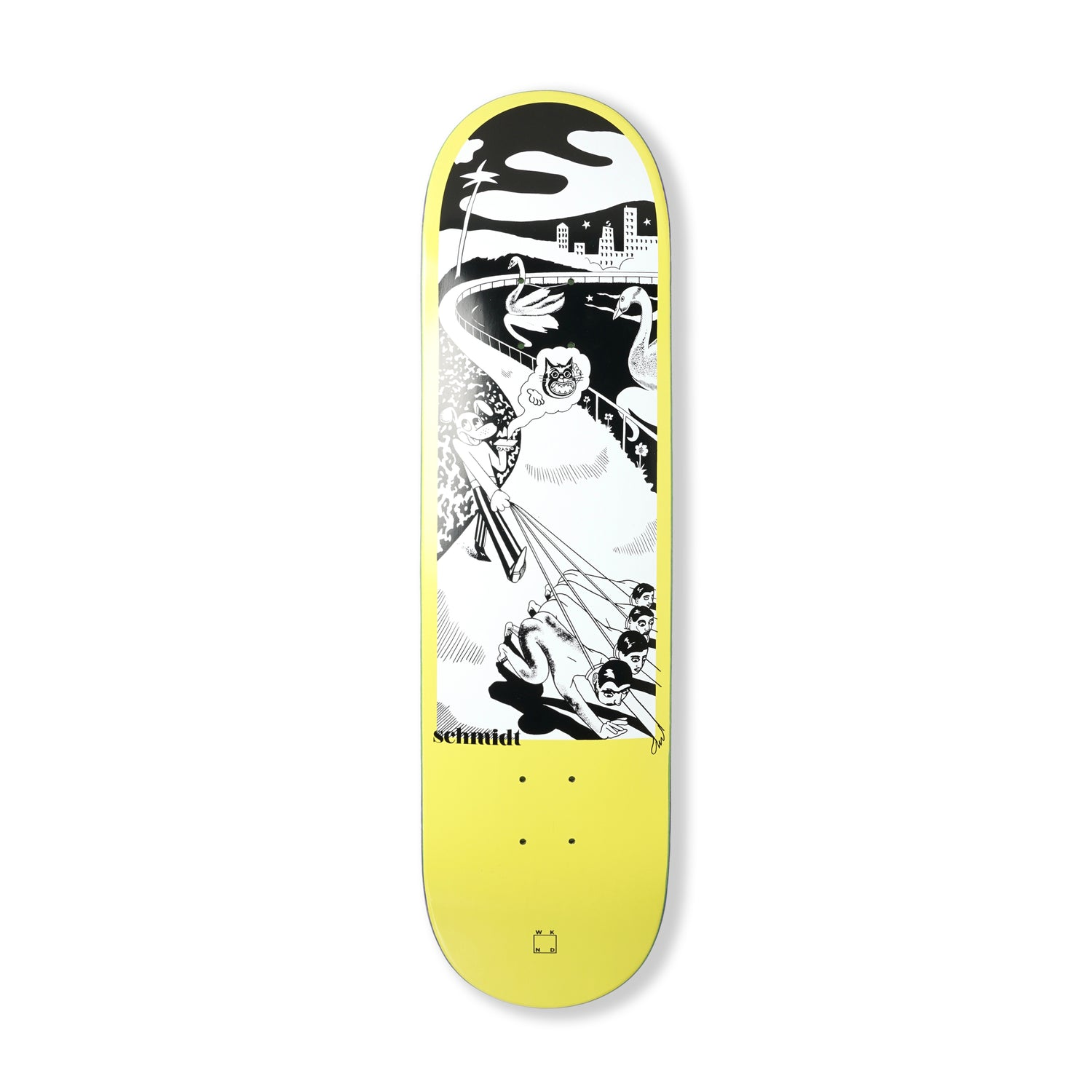 Schmidt 'Dog Walking' Deck