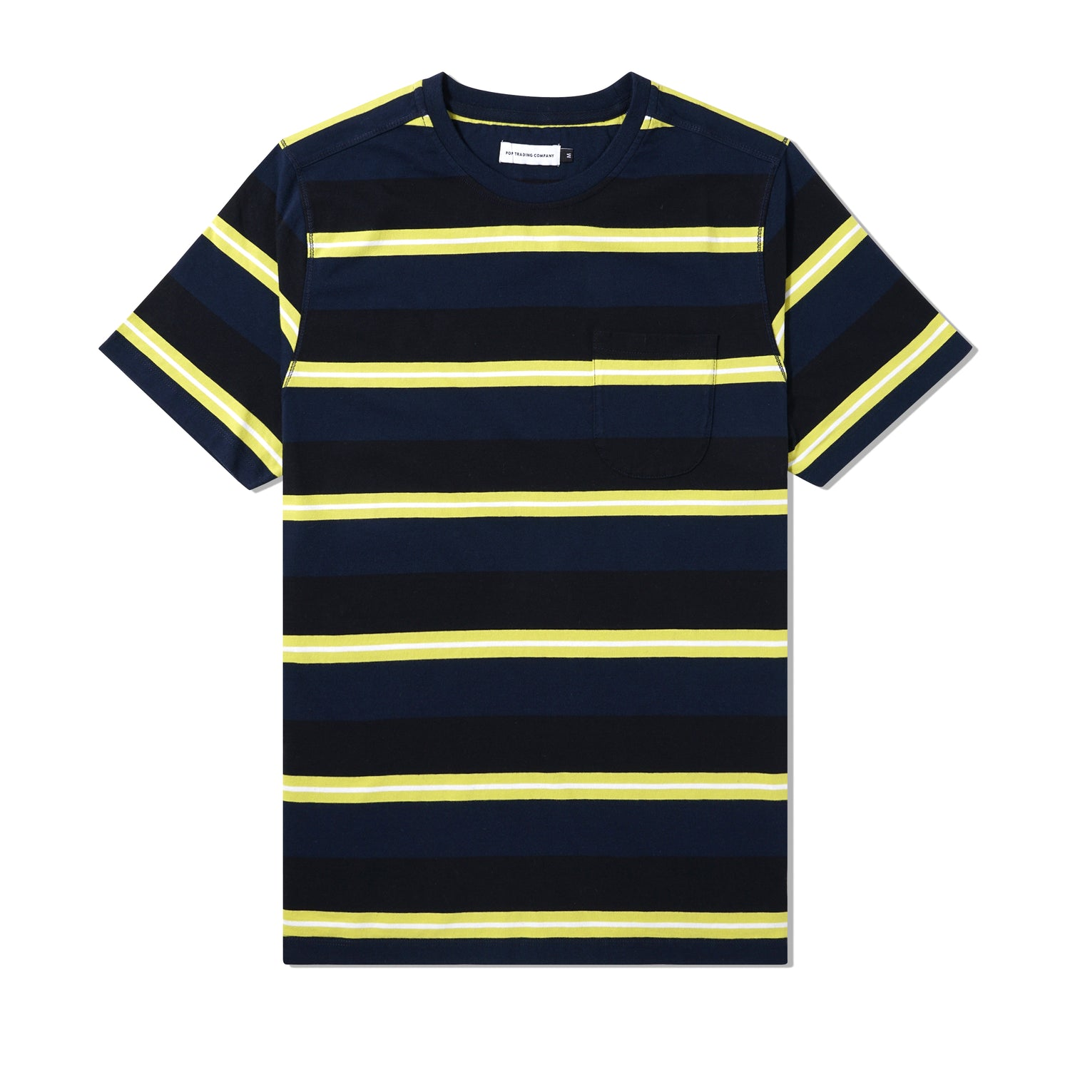 POP Striped Pocket Tee