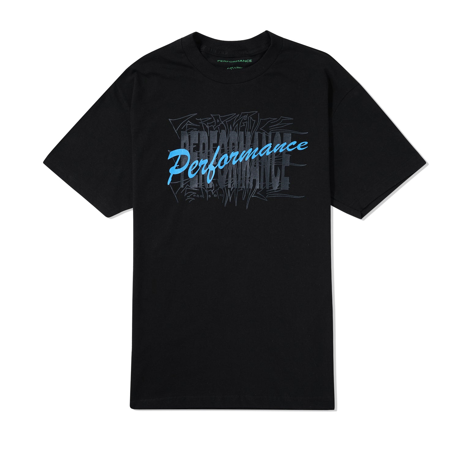 Brush Fade Tee, Black