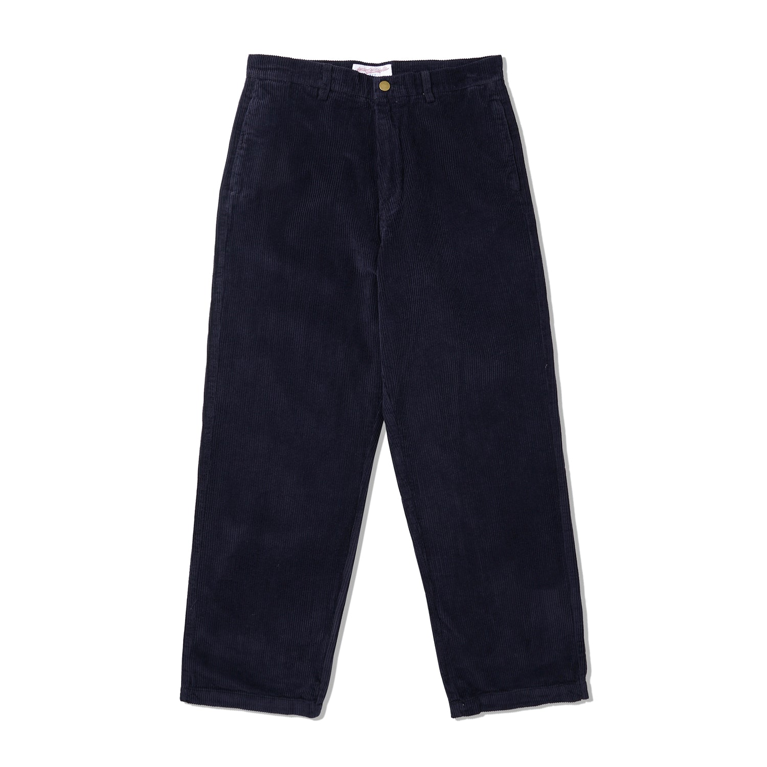 YS Corduroy Slacks, Navy / White