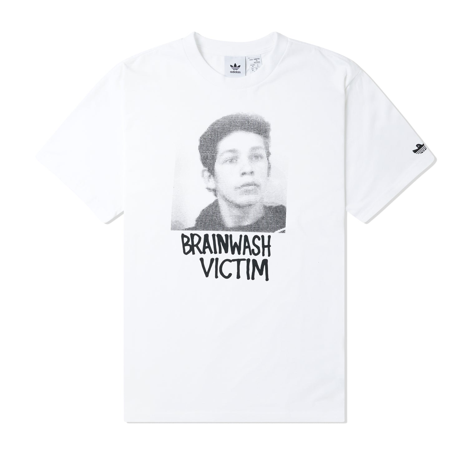 Brainwash Tee, White