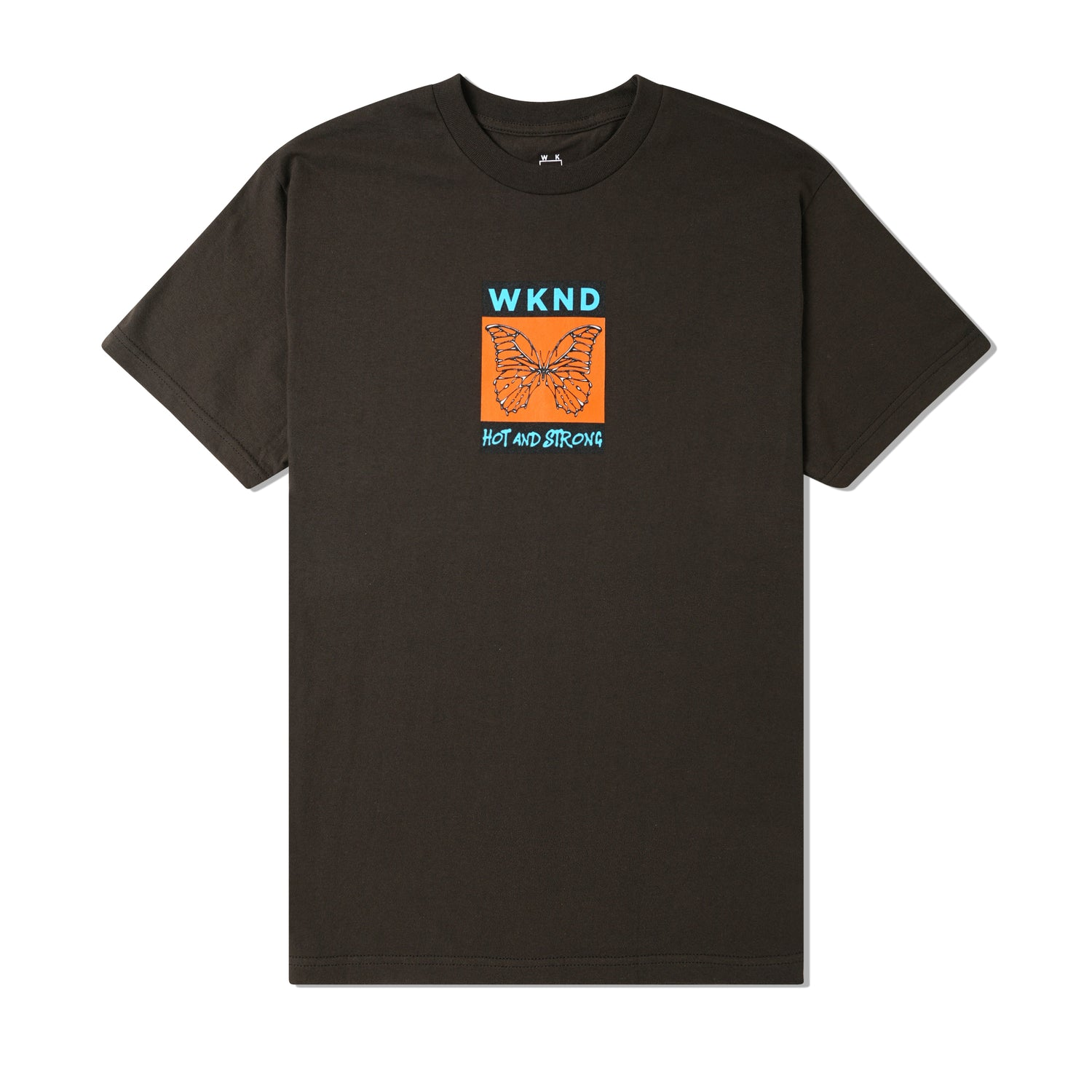 Hot & Strong Tee, Brown