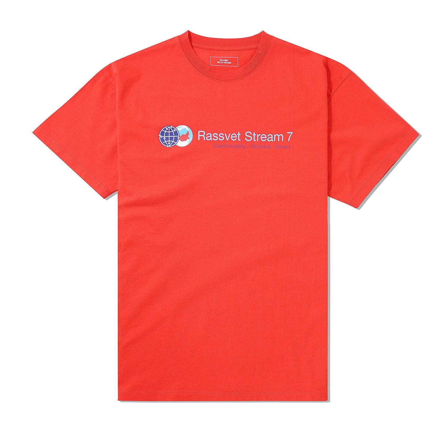 Stream 7 Tee, Red