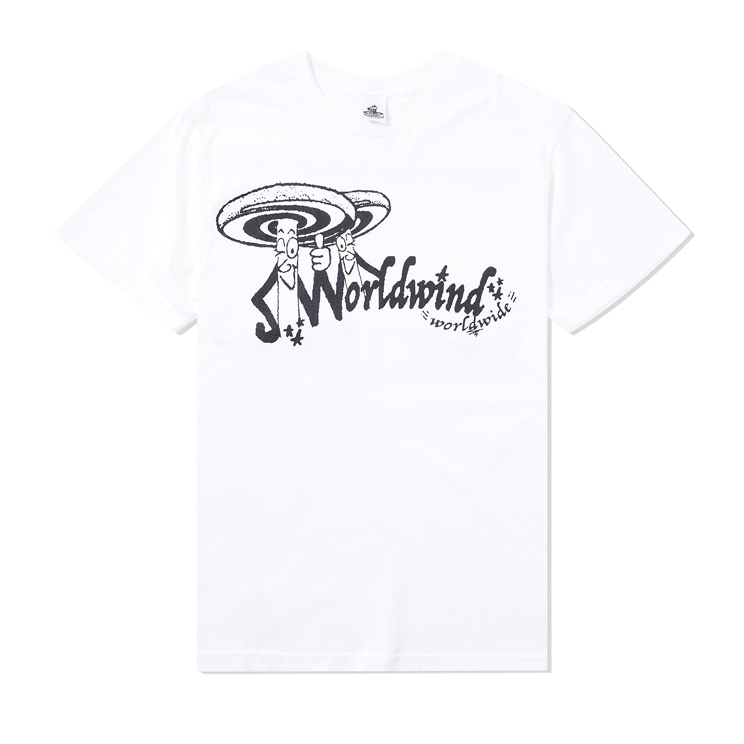 Knowledge Is Fungi Tee, White