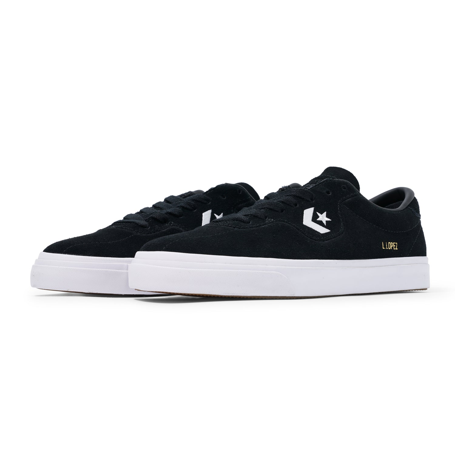 Louie Lopez Pro Low, Black / White