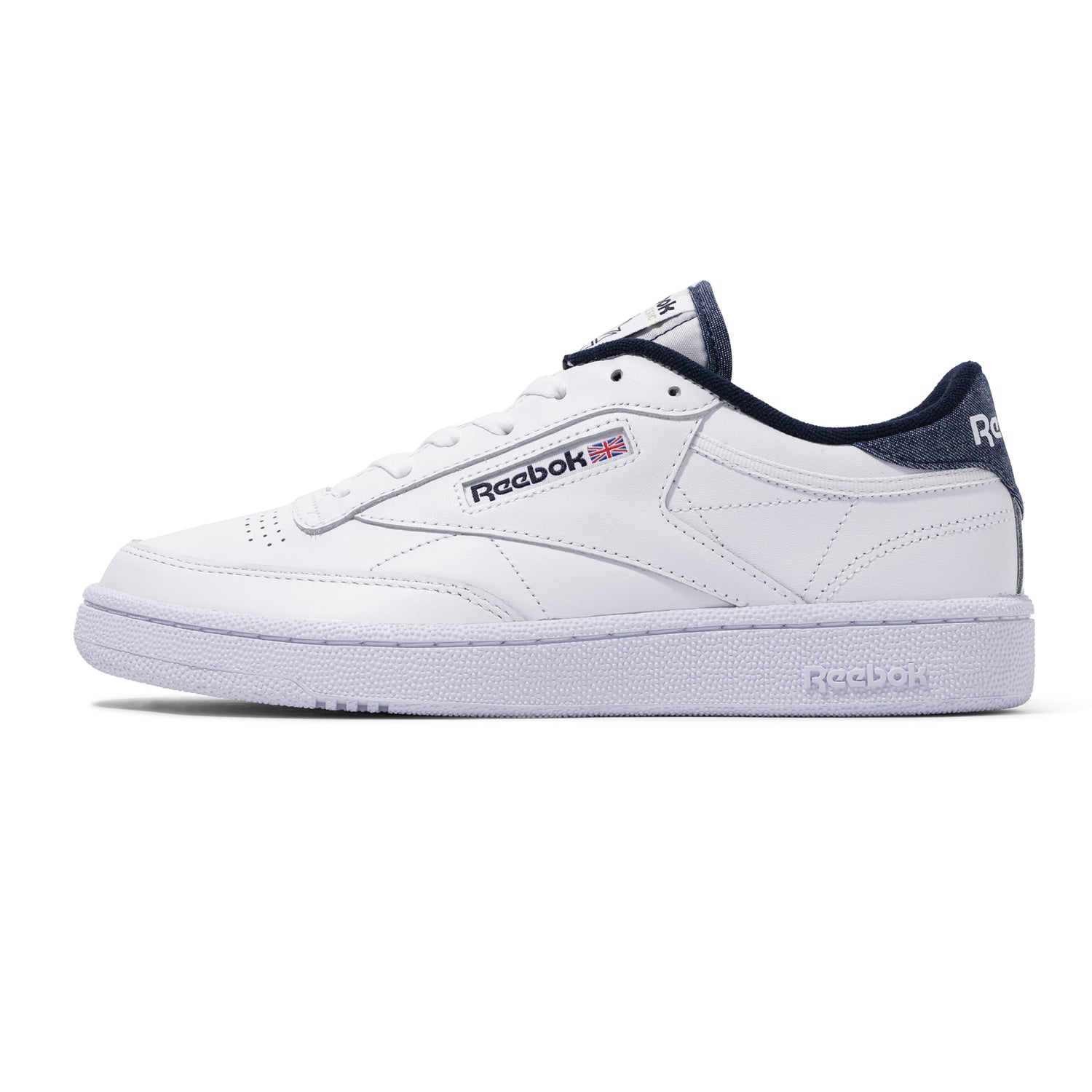 Club C 85, White / Vector Navy / White