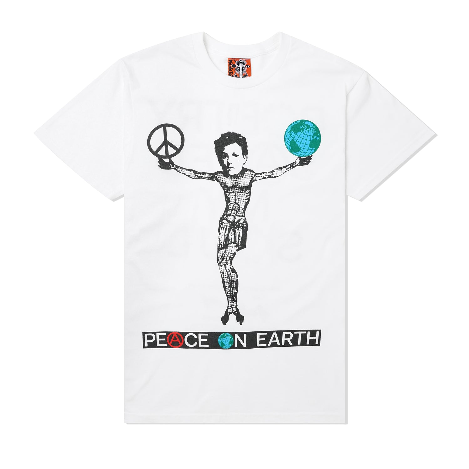 Peace On Poetry Journal #002 Tee, White