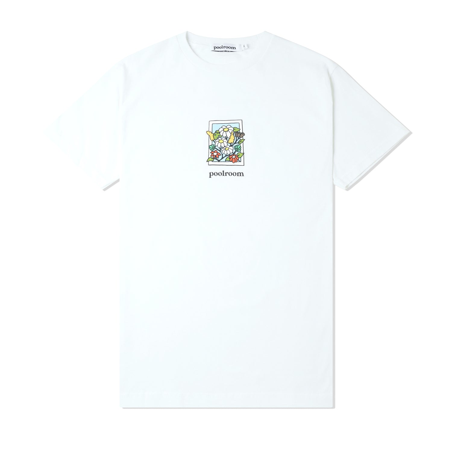 In Bloom Tee, White