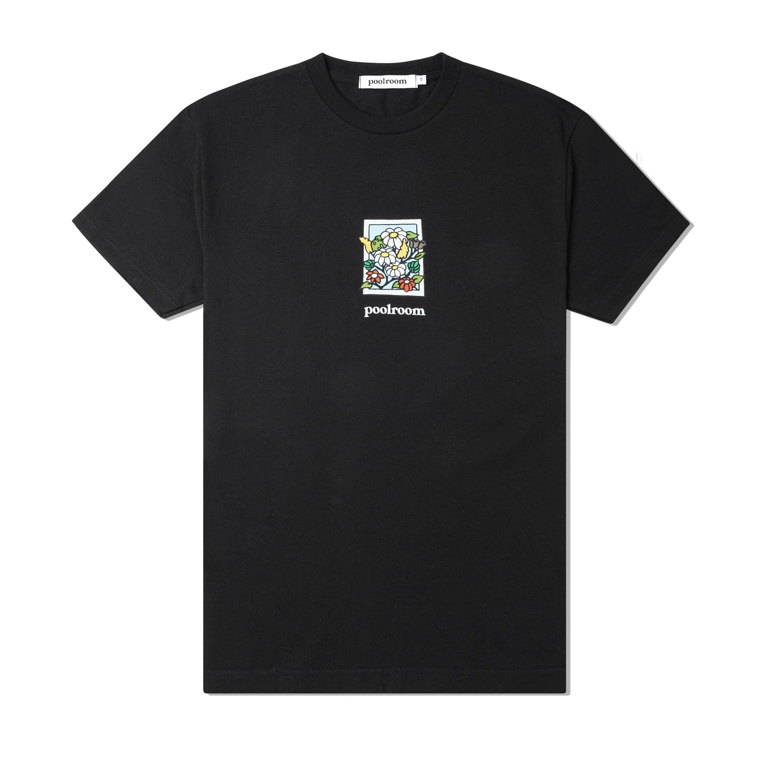 In Bloom Tee, Black