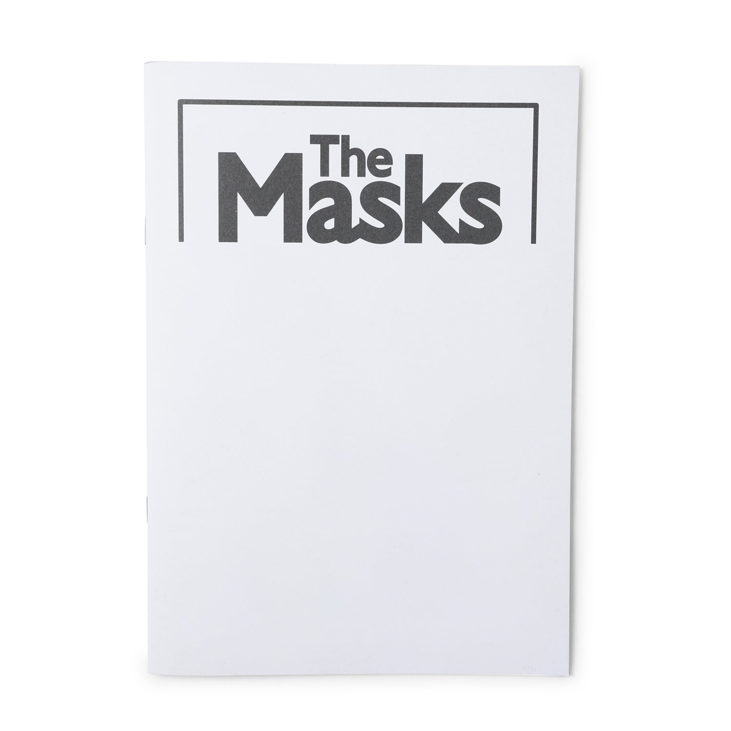 'The Masks' Zine
