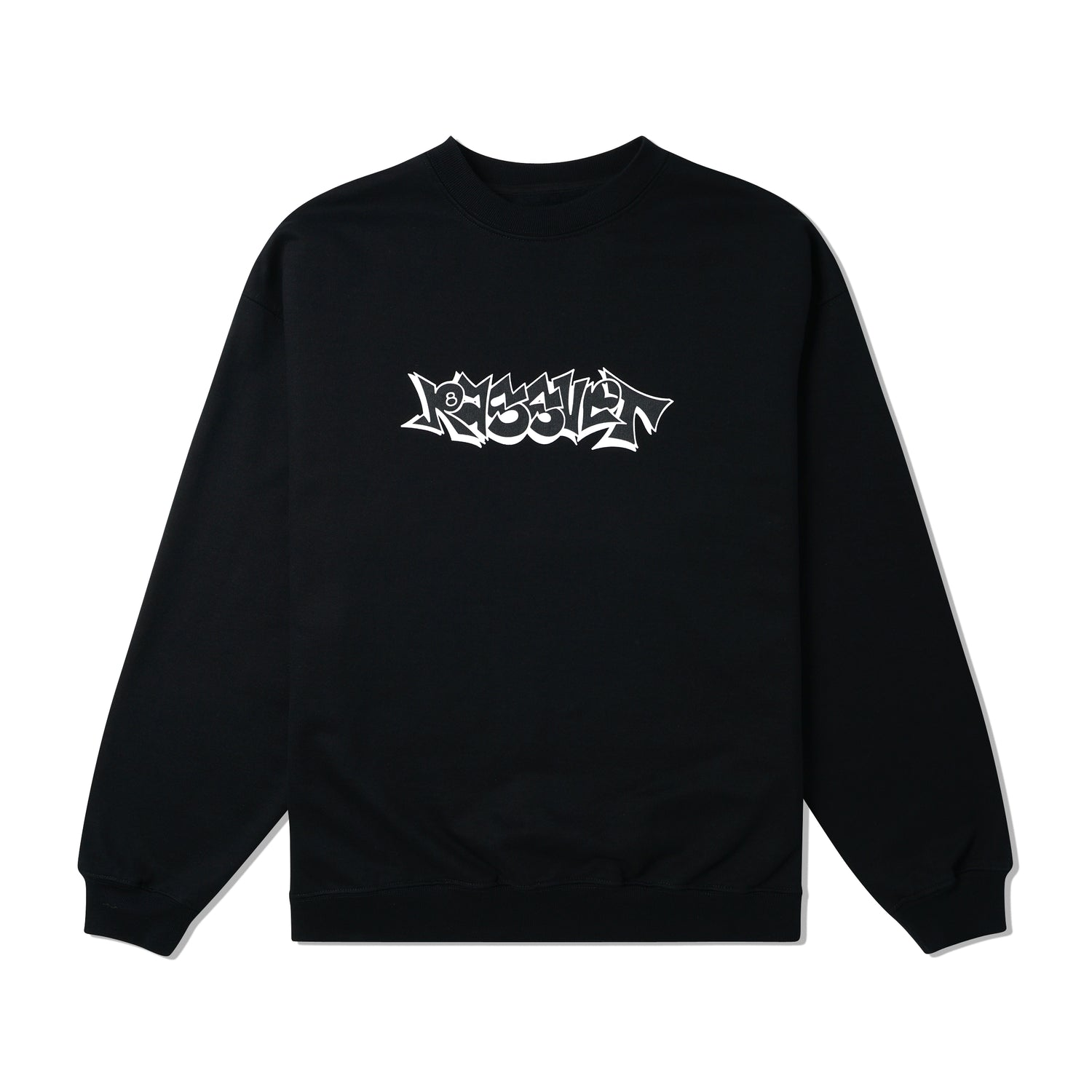 Graffiti Crewneck, Black