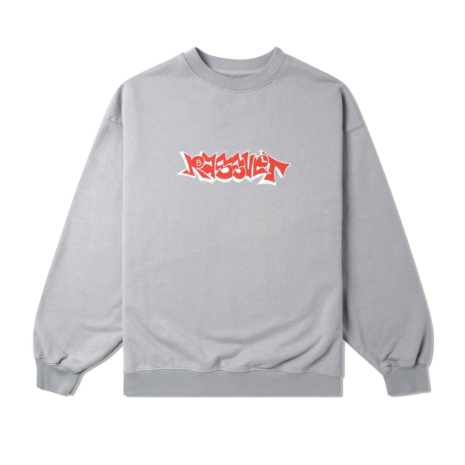 Graffiti Crewneck, Grey