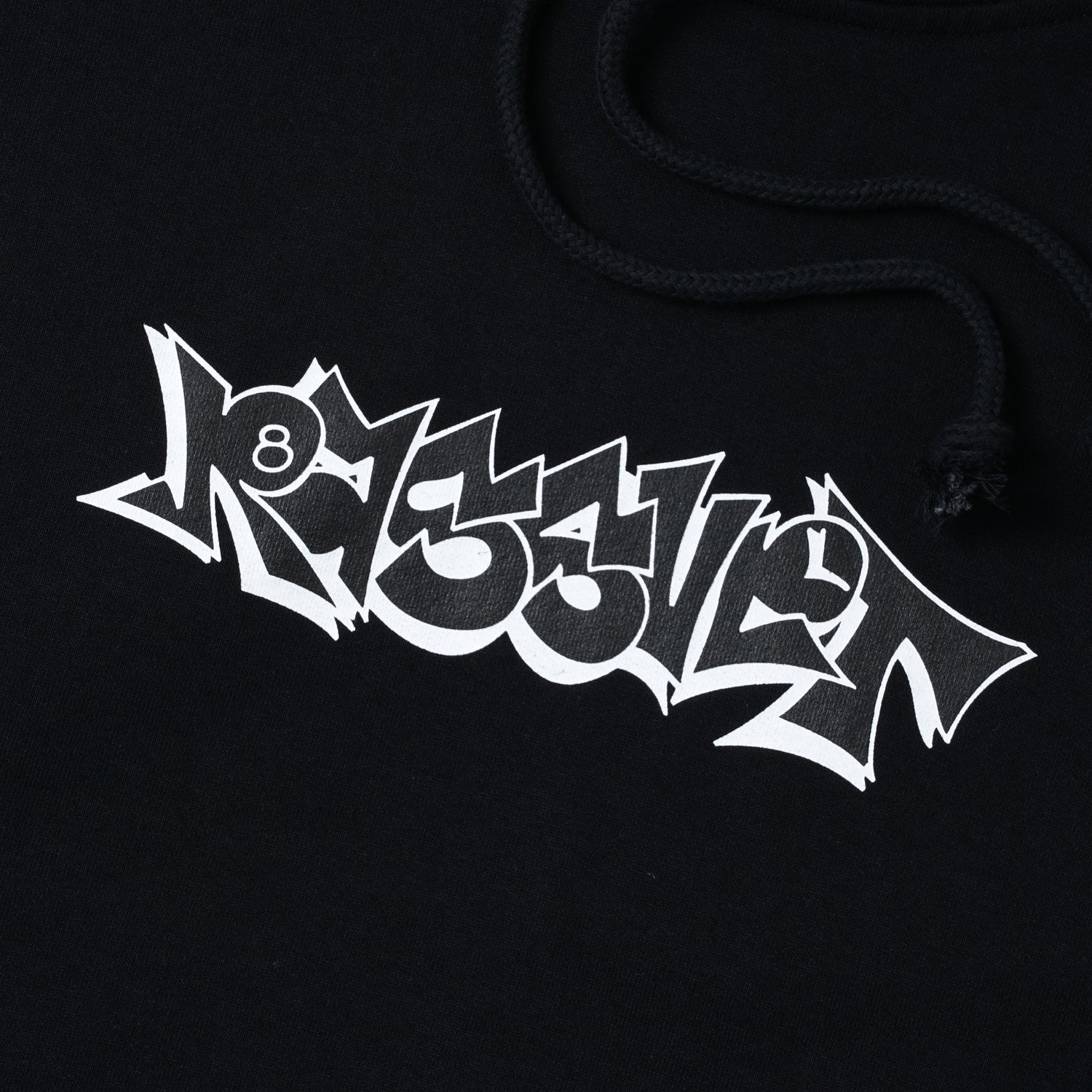 Graffiti Pullover, Black