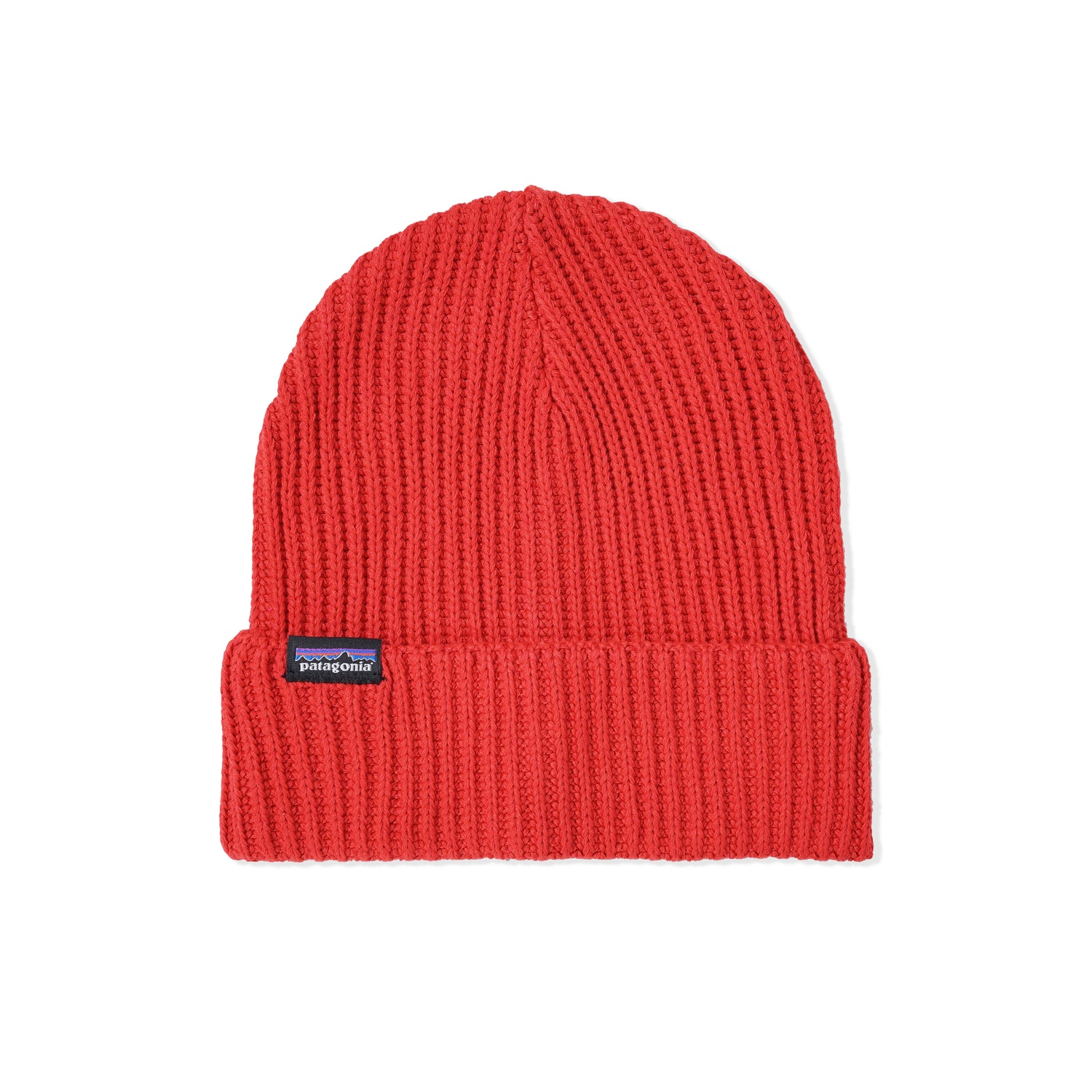 Fishermans Rolled Beanie, Rincon Red
