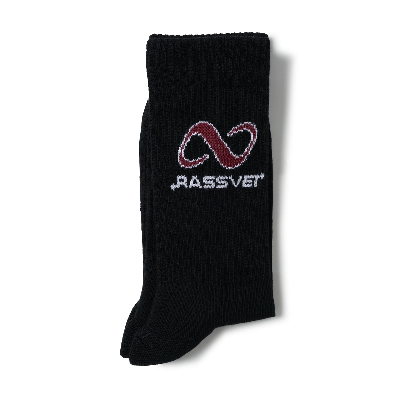 Logo Sport Socks, Black