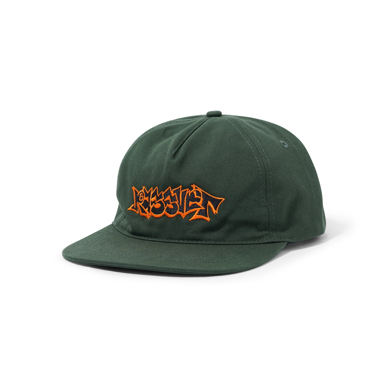 Graffiti Cap, Dark Green