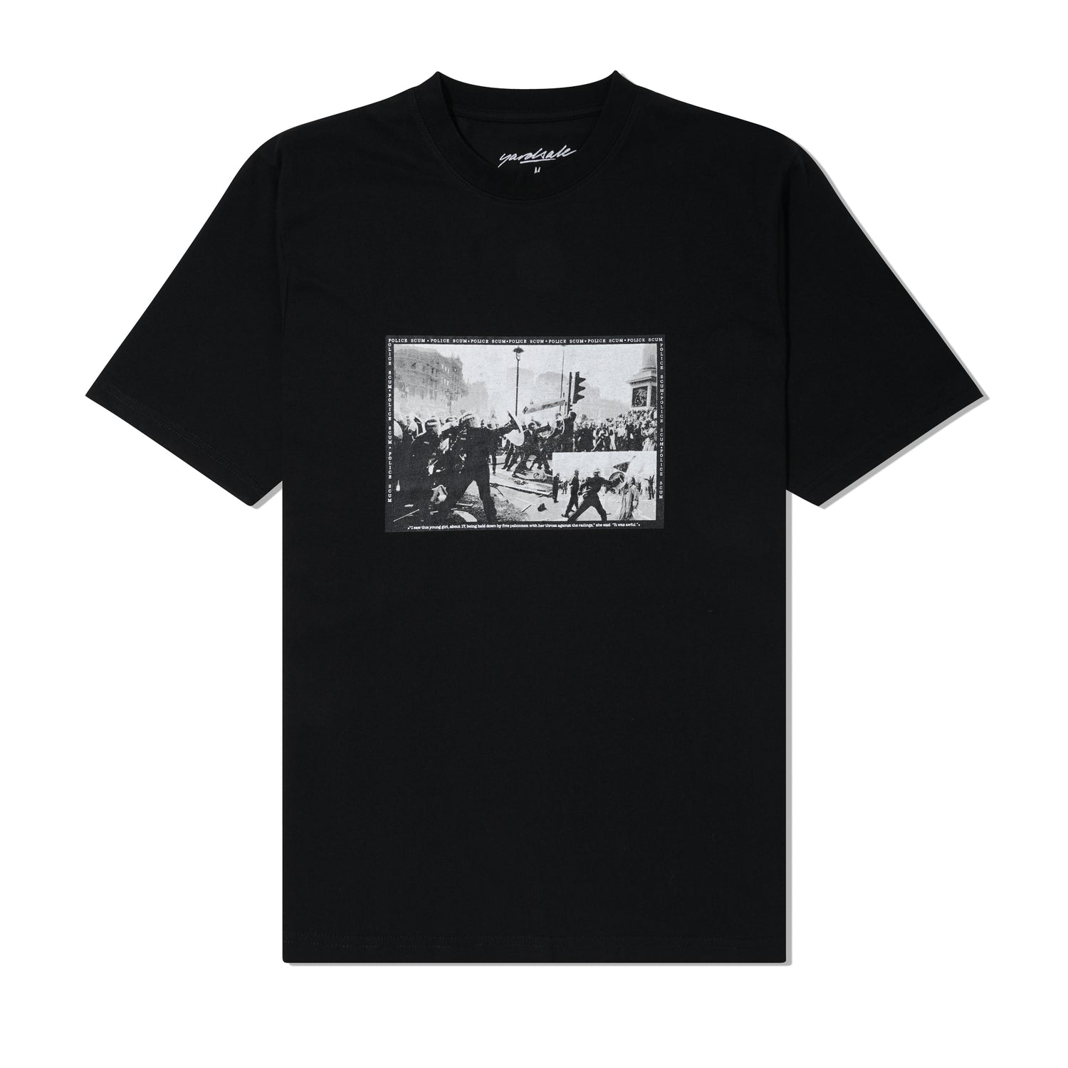 Protect & Serve Tee, Black