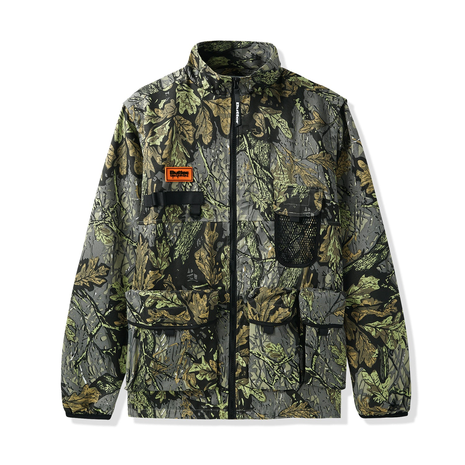 Equipment Technical Jacket, Leaf Camo